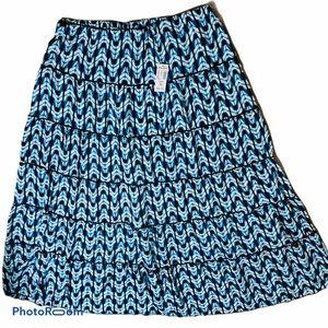 Dress Barn Tier Skirt - Size 1X